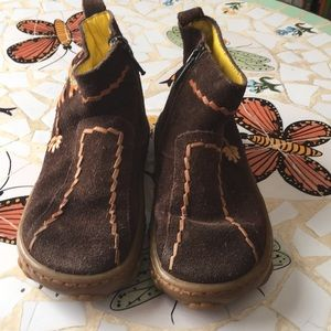 Pom D'api leather booties